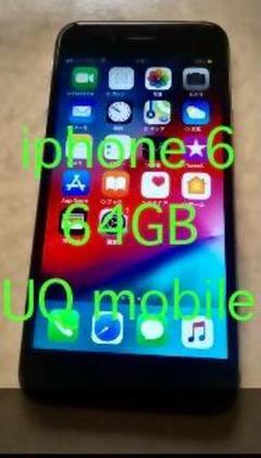 "Thumbnail of ""#限定値下げ iPhone 6 64GB キャリアUQ moblie"""