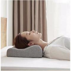 """Thumbnail of """"⭐️安眠まくら⭐️肩がラク 安眠枕 快眠枕 低反発 頭・肩をやさしく支える 低反発枕"""""""