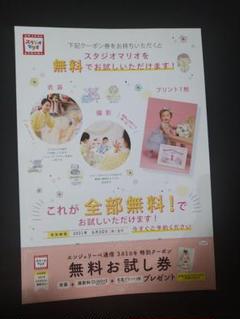 "Thumbnail of ""スタジオマリオの無料お試し券"""