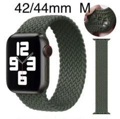 "Thumbnail of ""Apple Watch交換用バンド 42/44mmM カーキ"""
