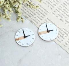 "Thumbnail of ""《新品》ミニチュア   模型 ジオラマ ドールハウス 時計 壁掛け時計 ☆ 1個"""