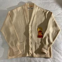 "Thumbnail of ""50s Vintage Lettered Cardigan レタードカーディガン"""