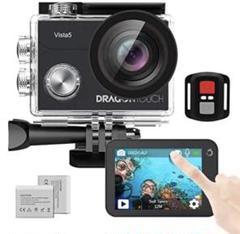 "Thumbnail of ""48 アクションカメラ 4K 20MP Wi-Fi搭載 2インチタッチスクリーン"""