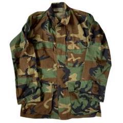 "Thumbnail of ""90s US ARMY bdu ジャケット ウッドランドカモ 迷彩 アメリカ軍"""