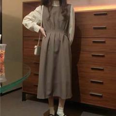 "Thumbnail of ""ドレスレディーススリムストラップスカートスカートツーピーススカート"""