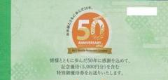 "Thumbnail of ""サガミ株主優待券"""