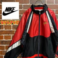 "Thumbnail of ""【入手困難】90s ナイキ NIKE ナイロンジャケット セットアップ 古着刺繍"""