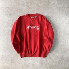 "Thumbnail of ""Wisconsin RED sweat 刺繍 カレッジ レッド ウィスコンシン"""