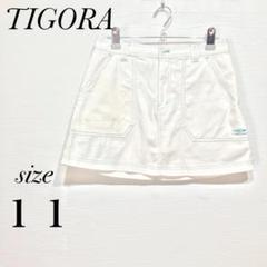 "Thumbnail of ""TIGORA ティゴラ 白 刺繍ロゴ サイズ11 スコート スポーツ"""