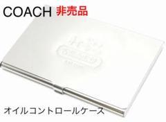"Thumbnail of ""COACH★コーチ★ノベルティー/オイルコントロール カードケース/名刺入れにも"""