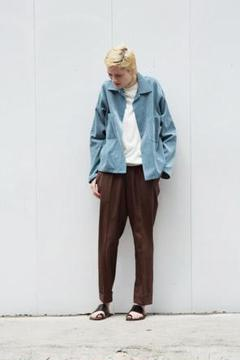 "Thumbnail of ""17SS AURALEE washed corduroy jacket 4"""