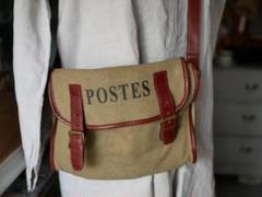 """Thumbnail of """"POSTES   ショルダーバッグ フランスの郵便配達員 フランスアンティーク"""""""