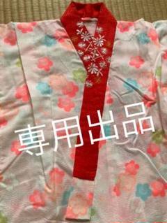 """Thumbnail of """"襦袢 長襦袢 重ね衿 七五三 ガールズ 女児 女の子 子供 昭和レトロ"""""""