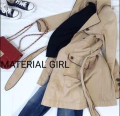 """Thumbnail of """"MATERIAL GIRL トレンチコート アウター デニム風 カジュアル"""""""