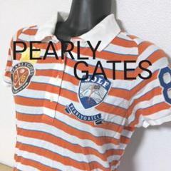 "Thumbnail of ""aa23.  PEARLY GATES 半袖ポロシャツ レディースMサイズ"""