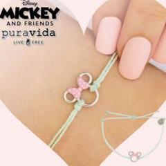 "Thumbnail of ""Disney x pura vida コラボ ミニーマウス ブレスレット"""
