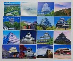 """Thumbnail of """"森永ハイソフト ミルクキャラメル 日本の名城カード16枚"""""""