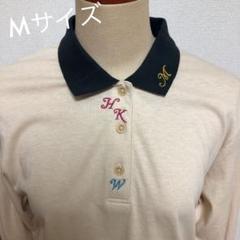 "Thumbnail of ""新品 アルファベット 刺繍 ポロシャツ レトロ 綿"""
