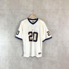 "Thumbnail of ""90s Nike アメフト ゲームシャツ キッズXL メンズS〜M ホワイト"""