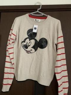 "Thumbnail of ""【未使用】GAP kids スパンコール付Disney セーター"""