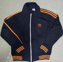 "Thumbnail of ""Adidas 西ドイツ 襟付きジャージ ジャケット オレンジ ブラック atp"""