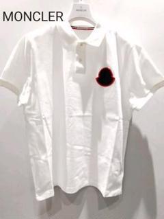 "Thumbnail of ""新品 Moncler モンクレール ポロシャツ ロゴ ホワイト L"""