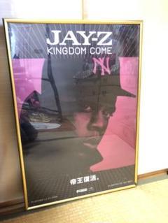 """Thumbnail of """"【購入者値引します!】【国内版】JayZ キングダムカム ポスター"""""""