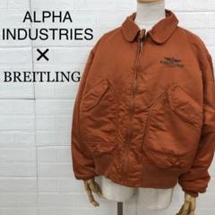 """Thumbnail of """"ALPHA INDUSTRIES × BREITLING ダブルネーム MA-1"""""""