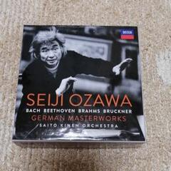 "Thumbnail of ""Seiji Ozawa/ German Masterworks 小澤征爾 輸入盤"""