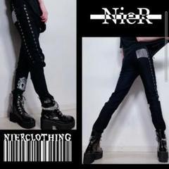 "Thumbnail of ""NieR 高品質STRETCH BLACK BRAID PANTS"""