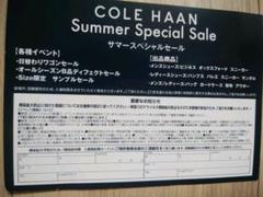 "Thumbnail of ""コールハーン Special Sale   5/21(金) 22(土)"""