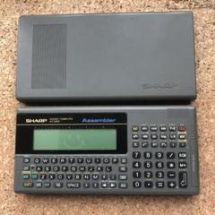 "Thumbnail of ""ジャンク ポケコン シャープ SHARP PC-G805"""
