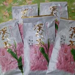 "Thumbnail of ""静岡県産 深むし茶 100g5袋だんらん"""