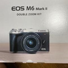 "Thumbnail of ""【新品未開封 値下げ中】Canon EOS M6 Wズームキット BK"""