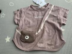 """Thumbnail of """"ミモランド くまポシェットTシャツ 80"""""""