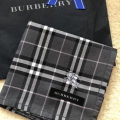 "Thumbnail of ""♡BURBERRY♡ バーバリーハンカチ 新品未使用 刺繍入り"""