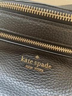"Thumbnail of ""【新品未使用】kate spade ボディバッグ ウエストポーチ 黒 レザー"""