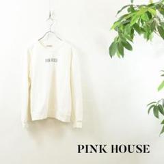 """Thumbnail of """"KF004 PINK HOUSE スウエット 白 ロゴ"""""""
