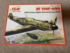 "Thumbnail of ""ICM 1/48 メッサーシュミット Bf109F-4/R-3 戦闘偵察機"""