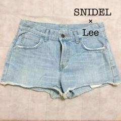 """Thumbnail of """"【Snidel】Leeコラボ デニムショートパンツ"""""""