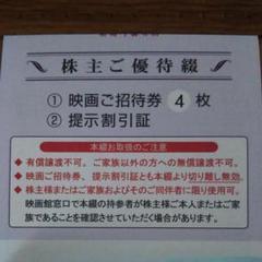 "Thumbnail of ""東京テアトル株主優待"""
