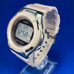 CASIO カシオ BABY-G 電波腕時計 デジタル ベージュ色 レディース