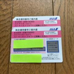 "Thumbnail of ""⭐︎ ANA 株主優待券 2枚"""
