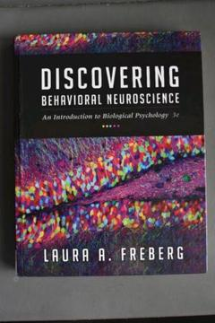 "Thumbnail of ""Discovering Behavioral Neuroscience"""