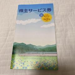 "Thumbnail of ""JR東日本 株主サービス券"""