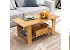 """Thumbnail of """"●未使用● 収納 引き出し付 木製 ローテーブル コーヒーテーブル"""""""
