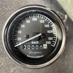 "Thumbnail of ""デイトナ機械式200kミニスピードメーター点灯確認済み"""