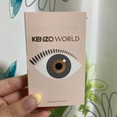 "Thumbnail of ""KENZO WORLD ケンゾー オードトワレ 香水 試供品"""