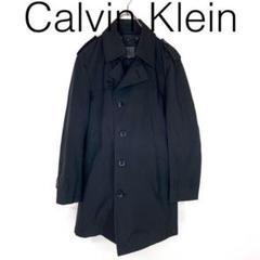 "Thumbnail of ""W3217*Calvinkleinカルバンクライン トレンチコート 黒ブラックM"""