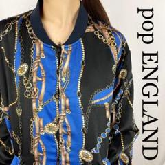 """Thumbnail of """"☆激チャラの極☆pop ENGLAND 総柄 ブルゾン"""""""
